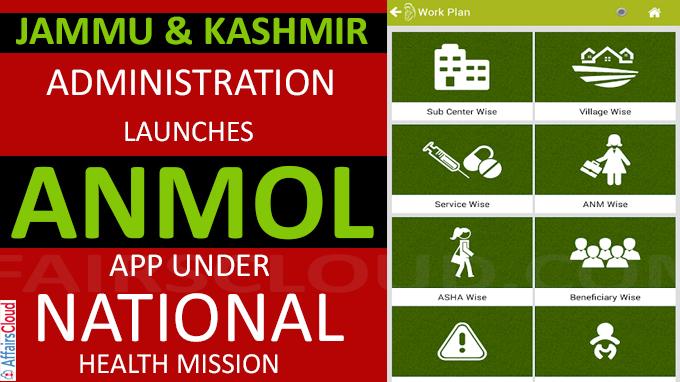 ANMOL app under national health mission