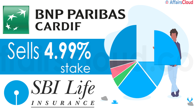 BNP Paribas Cardif sells 4-99% stake in SBI Life Insurance