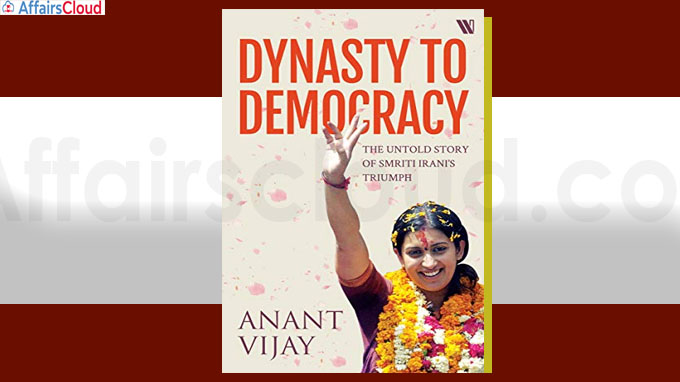 Book titled Dynasty to Democracy