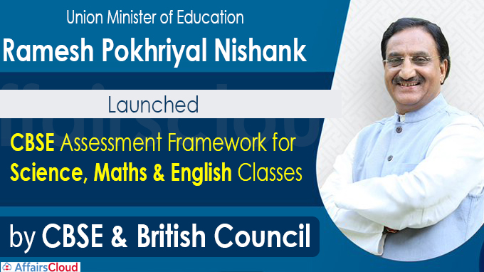 CBSE Assessment Framework for Science,Maths & English Classes