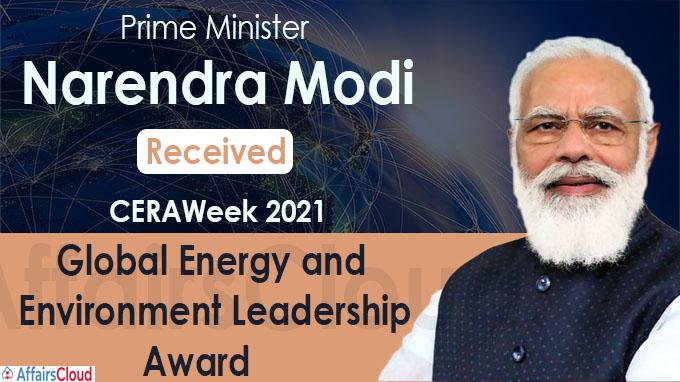 CERAWeek Global Energy and Environment Leadership Award