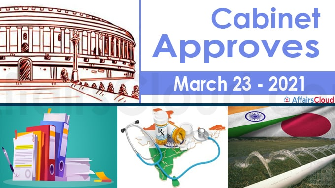 Cabinet Approval on March 23, 2021