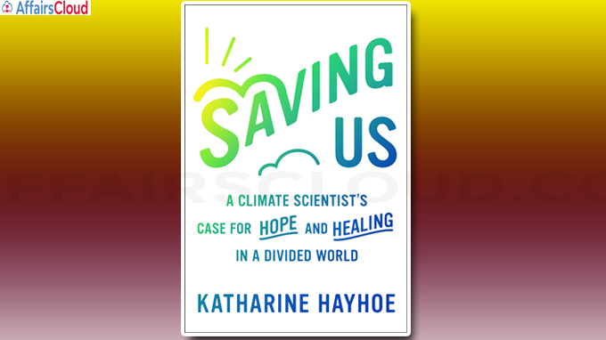 Climate scientist Katharine Hayhoe has book titled