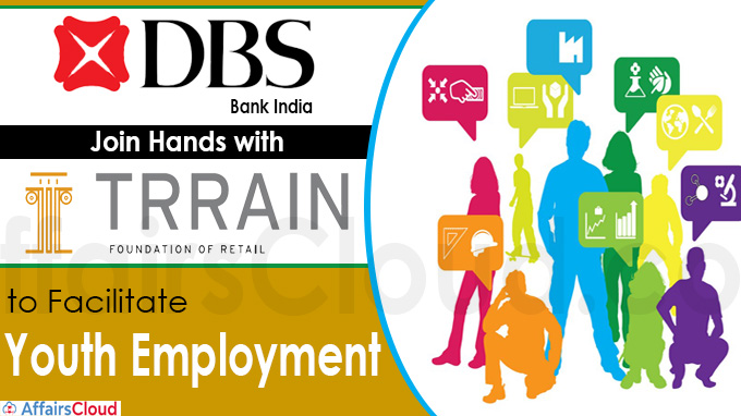 DBS Bank India joins hands with TRRAIN