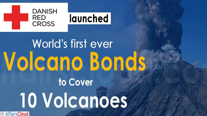 Danish Red Cross launches World's first ever volcano bonds
