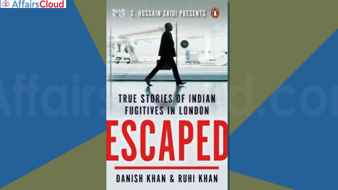 Escaped', a book on escaped Indian fugitives just released