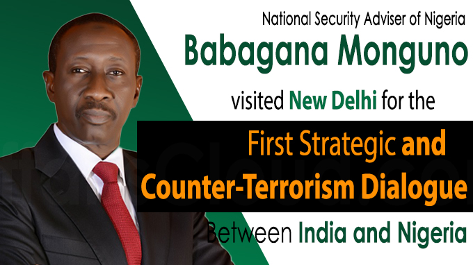 First Strategic, Counter-Terrorism Dialogue between India-Nigeria