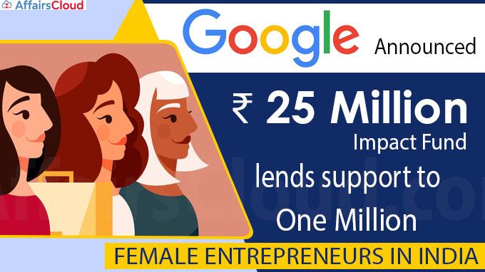Google announces $25 million impact fund