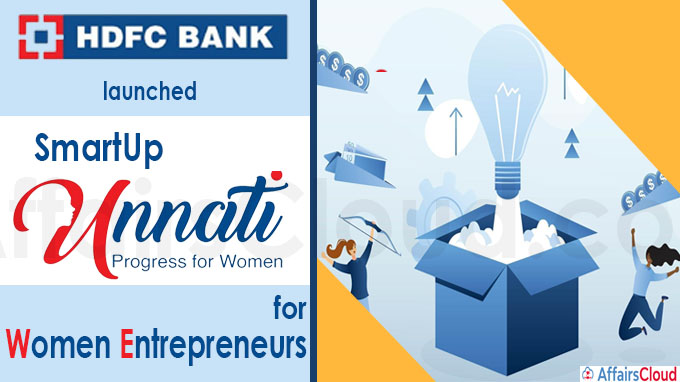 HDFC Bank launches SmartUp Unnati for women entrepreneurs