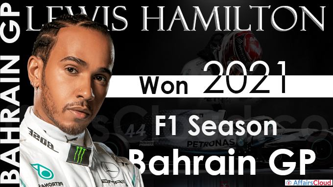 Hamilton fends off Verstappen's late charge to win Bahrain GP