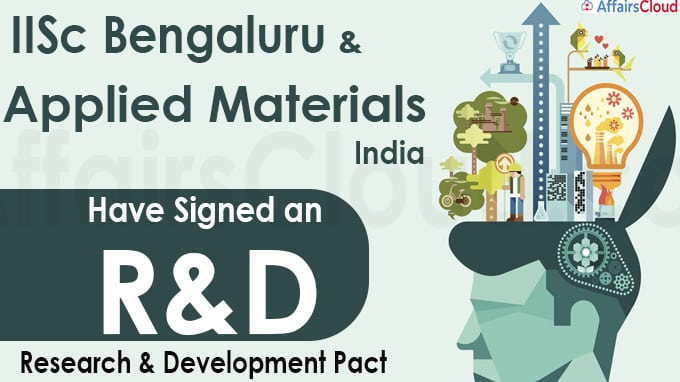 IISc, Applied Materials India ink R&D pact