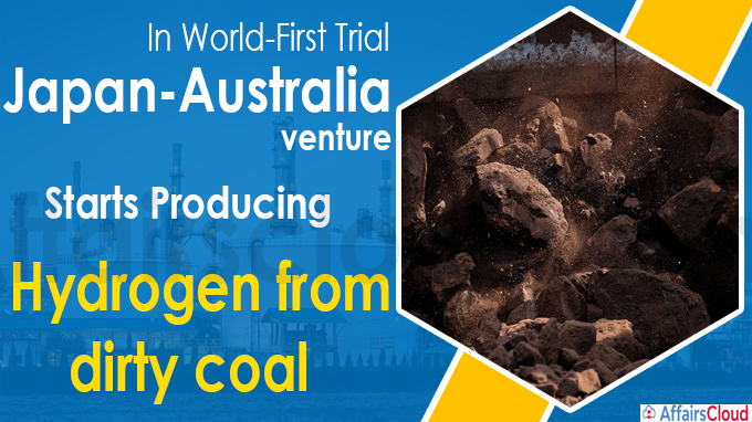 In world-first trial, Japan-Australia venture starts