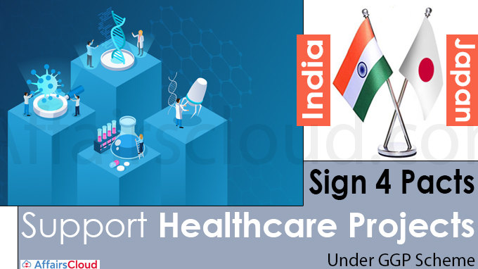 India, Japan sign 4 pacts to support healthcare projects