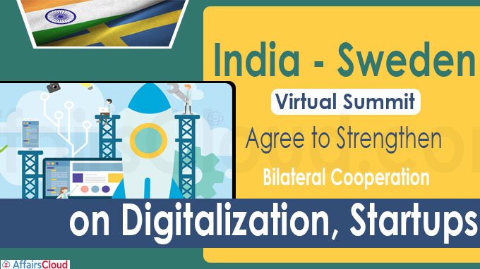 India, Sweden hold virtual summit
