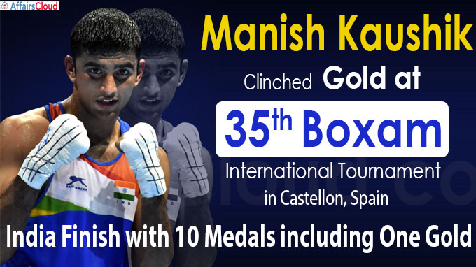 India finish with 10 medals including one gold