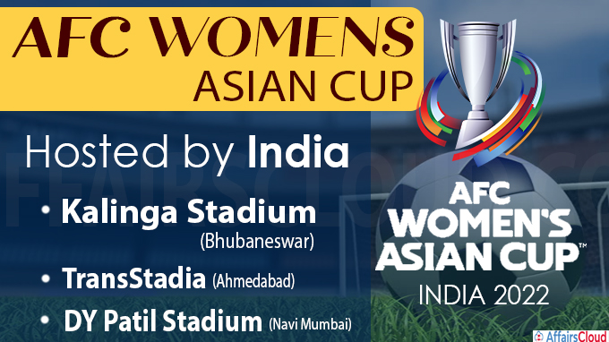 India host AFC Women's Asian Cup India 2022