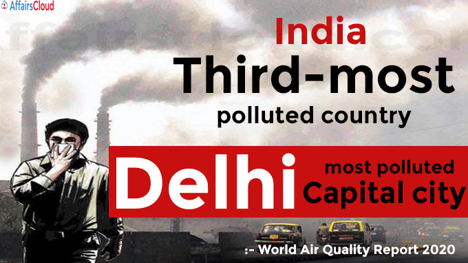India third-most polluted country