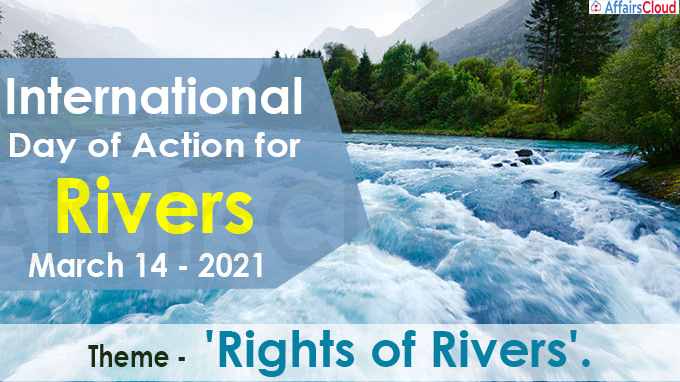 International Day of action for rivers