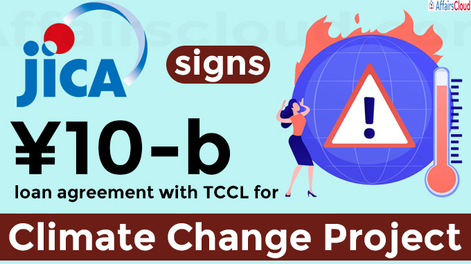 JICA signs ¥10-b loan agreement with TCCL