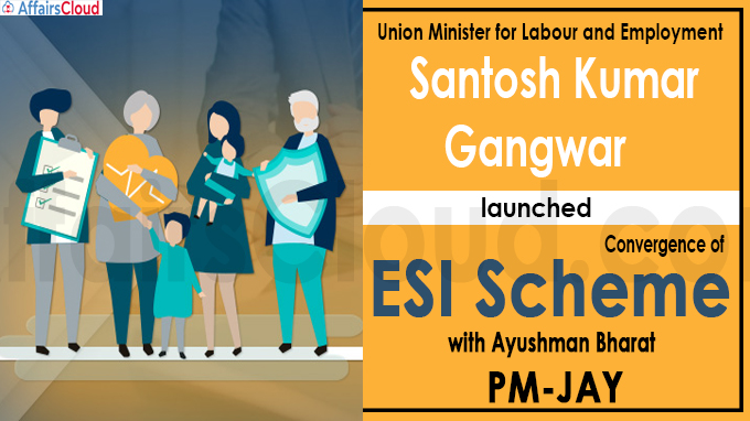 Labour minister launches convergence of ESI scheme