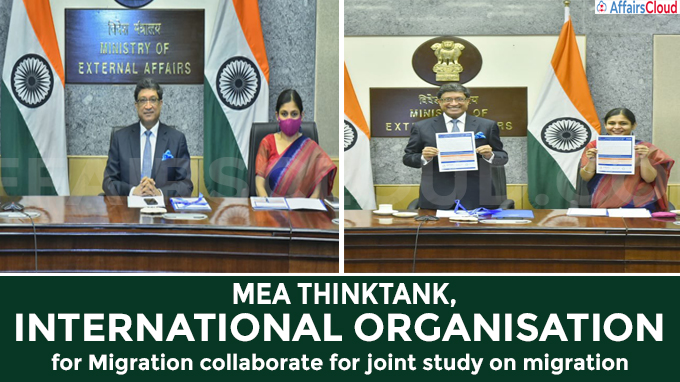 MEA thinktank, International Organisation for Migration collaborate for joint study on migration