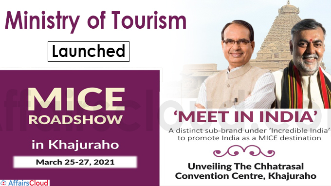 Ministry of Tourism Launches 'MICE Roadshow - Meet in India'