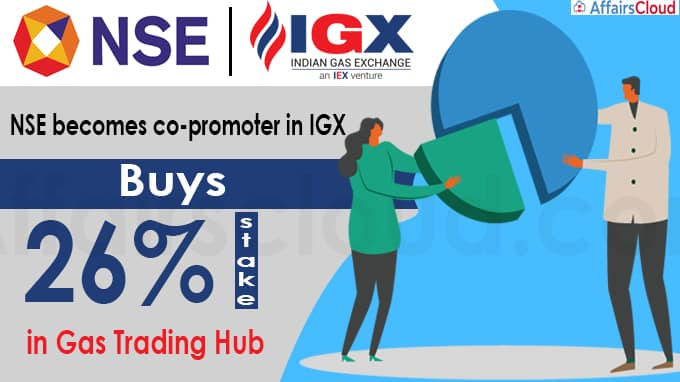 NSE becomes co-promoter in IGX, buys 26% stake