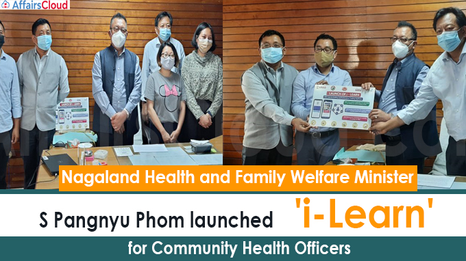 Nagaland Health Minister launches 'i-Learn' for Community Health Officers