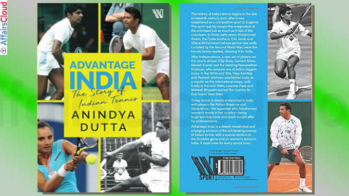 New Book Titled Advantage India The Story of Indian Tennis