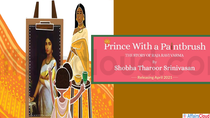 New children's book titled 'Prince with a Paintbrush