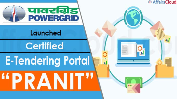 """POWERGRID Launches Certified E-Tendering Portal """"PRANIT"""""""