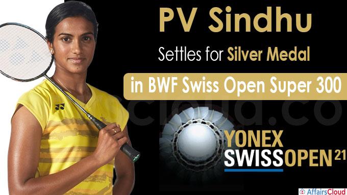 PV Sindhu settles for silver medal