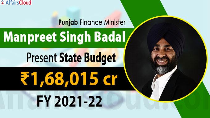 Punjab FM Manpreet Singh Badal presents State Budget of ₹1,68,015