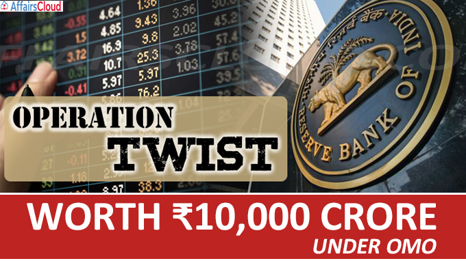 RBI announces Operation Twist worth ₹10,000 crore under OMO