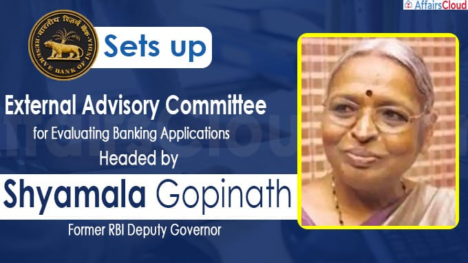 RBI announces committee-led by Shyamala Gopinath