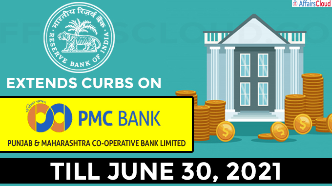 RBI extends curbs on PMC till June end