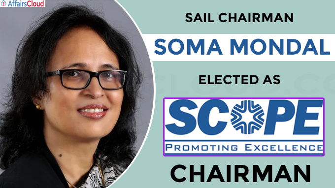 SAIL Chairman Soma Mondal elected as new chairman of SCOPE