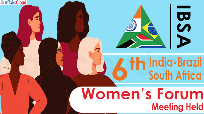 Sixth India-Brazil-South Africa Women's Forum meeting held