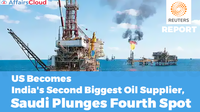 US-Becomes-India's-Second-Biggest-Oil-Supplier,-Saudi-Plunges-Fourth-Spot