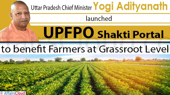 Uttar Pradesh govt develops India's first FPO portal