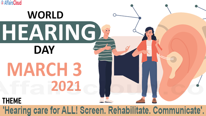 World Hearing Day - March 3 2021