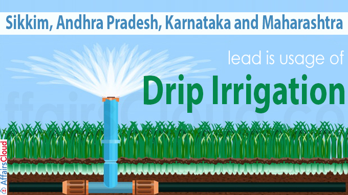 lead is usage of drip irrigation