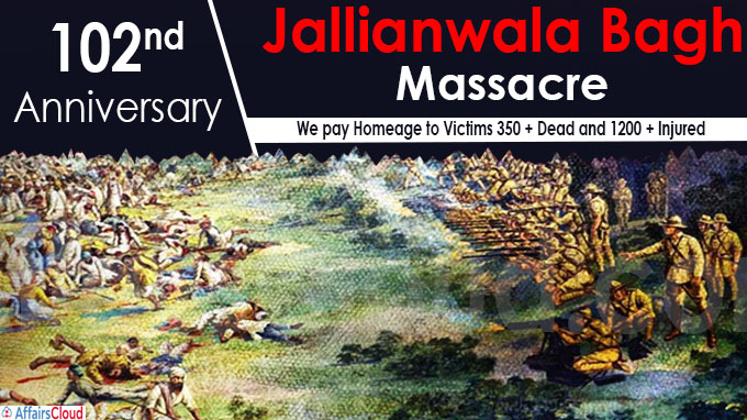 102nd Anniversary Jallianwala Bagh Massacre