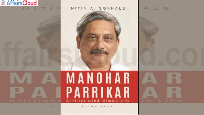 A Book titled Manohar Parrikar Brilliant Mind Simple Life