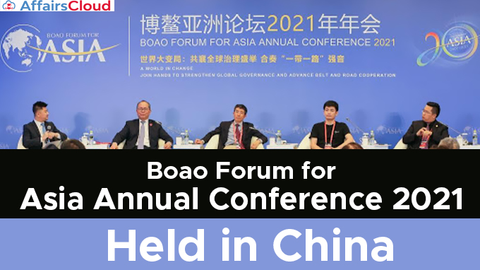 Boao-Forum-for-Asia-Annual-Conference-2021-held-in-China