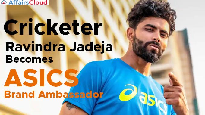 Cricketer-Ravindra-Jadeja-becomes-ASICS-brand-ambassador