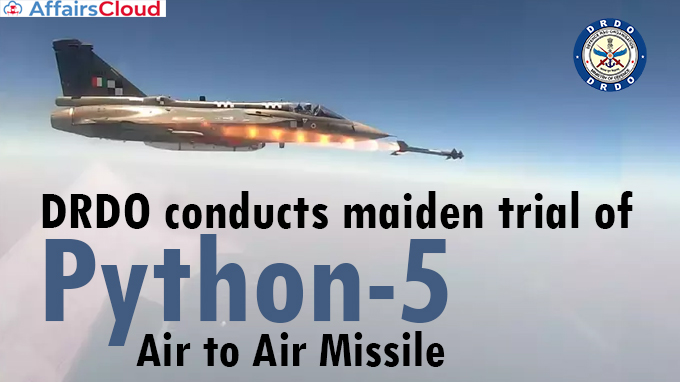 DRDO-conducts-maiden-trial-of-Python-5-Air-to-Air-Missile