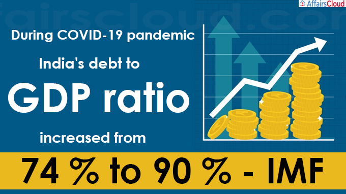 During COVID-19 pandemic India's debt to