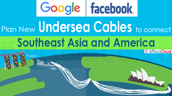 Facebook, Google plan new undersea cables