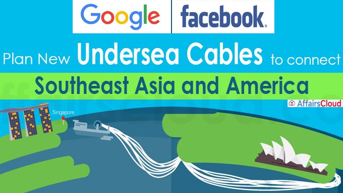 Facebook, Google plan new undersea cables